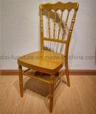 結婚式の移動式シート・クッションが付いているアルミニウムナポレオンの椅子
