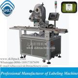Machine à étiquettes de panneau automatique de première surface de Skilt