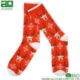 キャンディ・ケーンの嬉しいクリスマスの乗組員の服のソックス