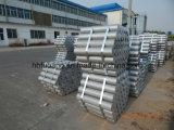 6063 6061 si sono sporti barra di alluminio da vendere