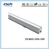 Luz linear modular do diodo emissor de luz do lúmen elevado 6300lm
