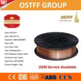 Fil de soudure stable lisse de MIG de la Chine d'arc Aws Er70s-6 (0.8mm D100/D200/D270/D300)