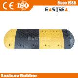 Black & Yellow acciaio Rafforzare gomma circolazione stradale Speed Bump