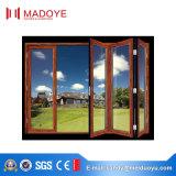 Grande porte de pliage en verre fabriquée en Chine