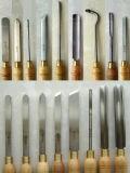 Jogo de ferramenta de giro de madeira do HSS para o funcionamento de madeira