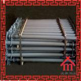 Puntello d'acciaio dell'armatura di puntellamenti registrabili per il supporto della lastra di cemento armato