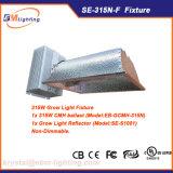 315W crescem o refletor de alumínio do reator do dispositivo elétrico de iluminação 400W HPS/CMH para hidropónico