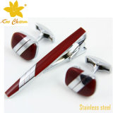 Mancuernas de la joyería tieclip-007 Exclusivo de encargo de China