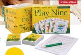 Jogo de cartão personalizado do jogo