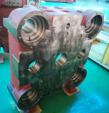 Base plástica del montaje de la máquina de la inyección