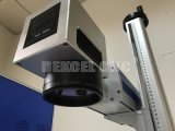 Машина вытравливания лазера маркировки лазера волокна Raycus портативная с источником лазера