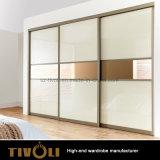 خزانة ثوب بيضاء مع مرآة [تيفو-00013هو]