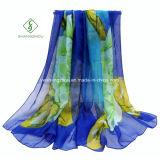 De nieuwe Met de hand geschilderde Sjaal van het Ontwerp Dame Fashion Silk Scarf Factory