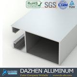 Profil en aluminium de porte de guichet en aluminium de certificat d'OIN en Afrique Ghana