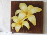 Tawny Daylily Pattern Home Decorative Canvas Peinture suspendue