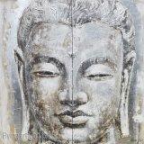 Peinture d'art de pétrole de métier de Bouddha