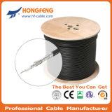 Gewölbte Zufuhr-Kabel-Koaxialkabel-Kommunikationen HF-7/8' undichten