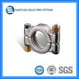 Conjunto de alta presión de la guarnición de la abrazadera de tubo de la virola de acero de Stainess