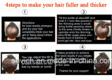 Polvere della proteina della fibra di ispessimento dei capelli di bellezza Brown nero/scuro