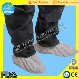 Neuer nichtgewebter Schuh-Deckel, SBPP medizinischer blauer Schuh-Deckel