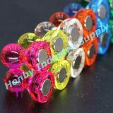 Chevilles magnétiques assorties de poussée d'Officemate de couleurs claires