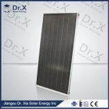 Colector solar azul certificado Keymark solar de la placa plana de la capa