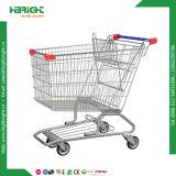 Carrello asiatico della mano del carrello del carrello di acquisto del supermercato di stile