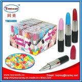 Nuevo juguete plástico del caramelo de la pluma del lápiz labial