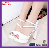 Белые сандалии цвета для женщин