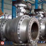 Valvola a sfera di galleggiamento dell'acciaio inossidabile di temperatura insufficiente
