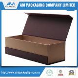 Коробка вина картона изготовленный на заказ роскошного твердого магнитного подарка закрытия упаковывая