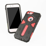 iPhoneのための自由なSample Combo Hard Armor Cell Phone Case