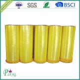 Rodillo Enorme del Mercado del Amarillo BOPP de la Cinta Adhesiva Coreana del Embalaje
