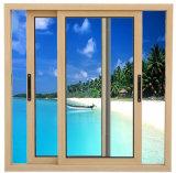 Finestra di vetro scorrevole orizzontale del telaio della lega di alluminio