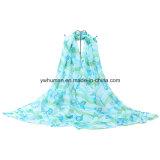 Écharpe de mode de polyester estampée par 2016 pour des femmes