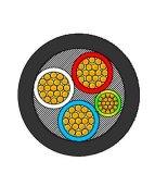 câble d'alimentation à plusieurs noyaux d'isolation de 25sqmm XLPE 0.6/1 kilovolt