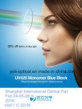 73mm UV420 1,56 Asp azul claro de la lente óptica del bloque con el Super hidrofóbico