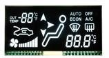 LCD 위원회 Tn Stn FSTN Stn 세그먼트 관례 LCD
