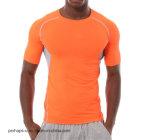 Maglietta pura di forma fisica di colore del Mens di alta qualità