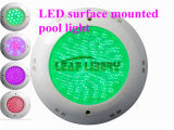An der Wand befestigte Pool Light 18W LED Underwater Lights 18W hohe Leistung Pool Lamp LED RGB Surface Mounted Pool Light Cold White