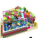 China-Unterhaltungs-Spielzeug-Fabrik-Plastikschauspielhaus-Innenspielplatz