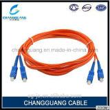 Цена шнура заплаты волокна одиночного/Multi режима низкой вносимой потери шнура заплаты кабеля оптического волокна изготовления фабрики Китая напольное