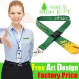 Printing ecologico Nylon/Polyester Custom Lanyard senza Minimum Order