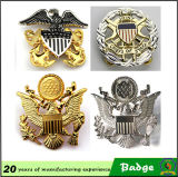 HighqualityのカスタマイズされたGold Eagle Metal Badges