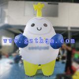 Personnage de dessin animé/la publicité gonflables de marche de costume du dessin animé de marche gonflable
