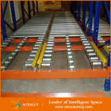 Racking di vendita caldo del pallet di laminazione di gravità del magazzino di economia di spazio