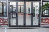 Горячая продавая нестандартная конструкция высокой эффективности складывая термально двери алюминия пролома