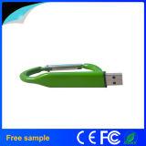 昇進のための金属のCarabinerの形USBのフラッシュ駆動機構