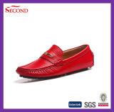 Удобные кожаный верхние ботинки людей