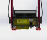 Cimento automático da parede que emplastra o preço da máquina com o Trowel do emplastro de 120cm